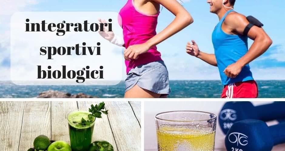 integratori biologici per sportivi